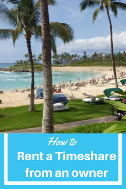 How to rent a Timeshare from an owner