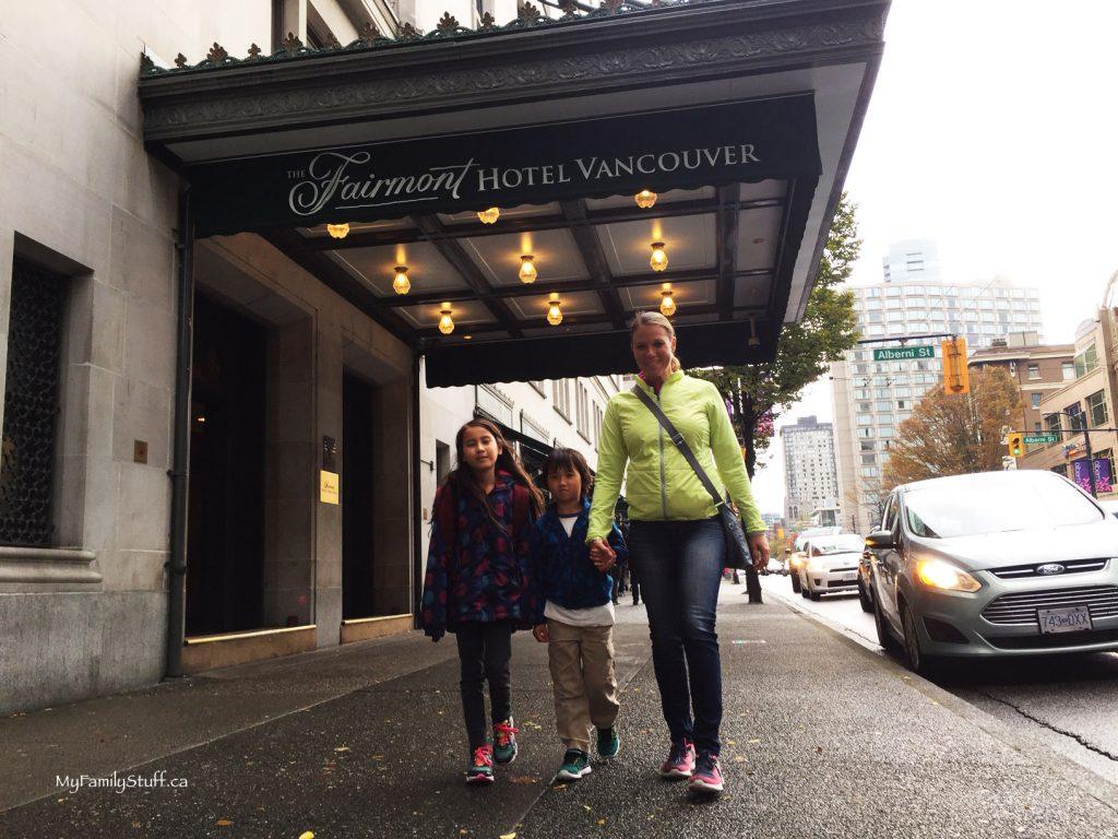 Fairmont Hotel Vancouver downtown