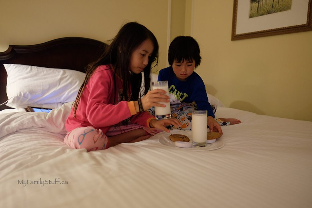 Fairmont Hotel Vancouver cookies for kids