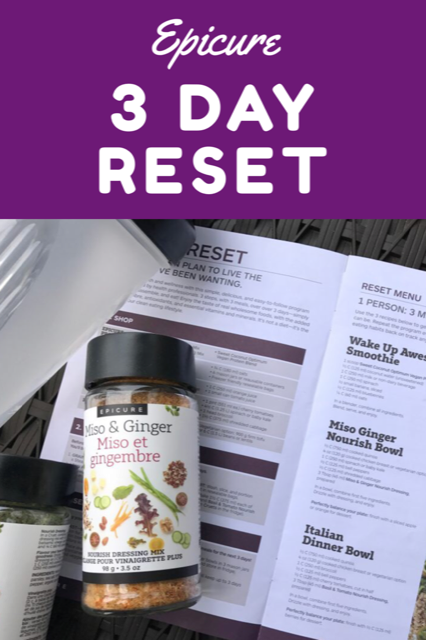 Epicure 3-Day Reset review