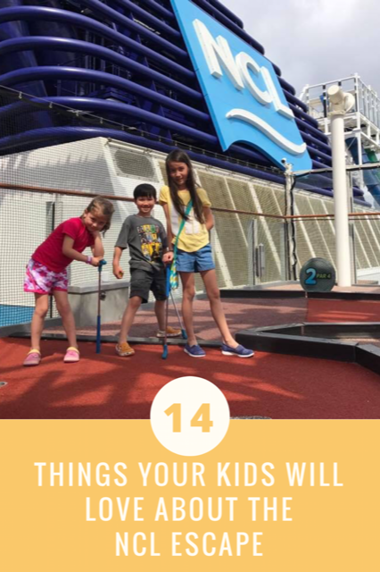 Norwegian Escape fun for kids