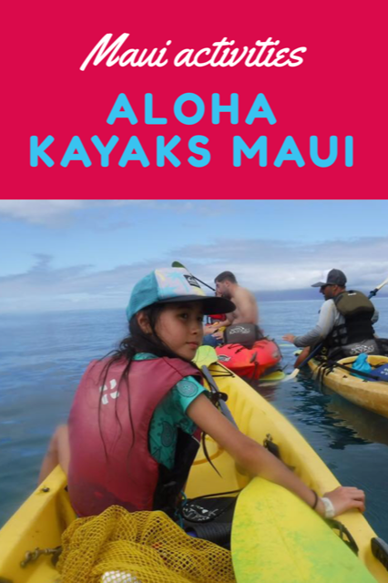 Family Fun on Maui with Aloha Kayaks Maui