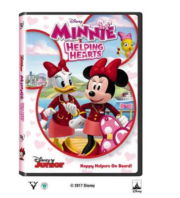 Minnie: Helping Hearts DVD