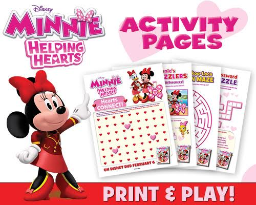 Minnie Mouse Printables