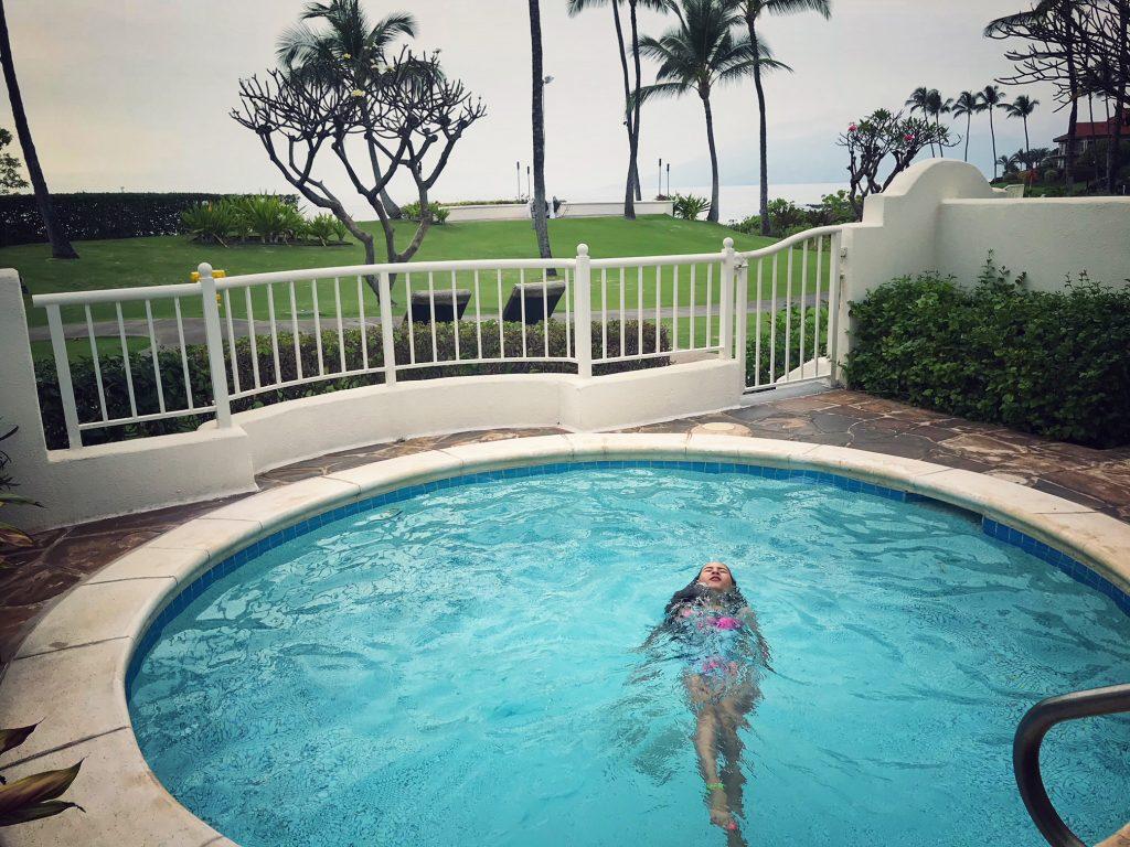 Fairmont Kea Lani villa plunge pool