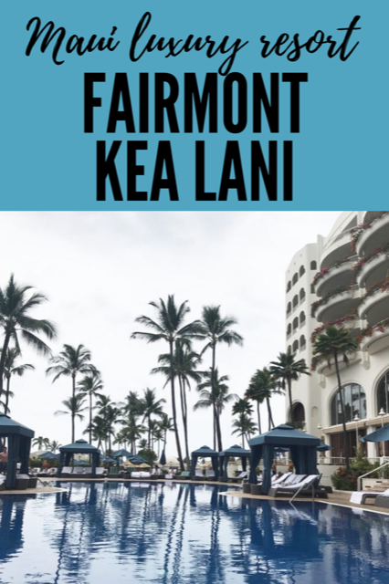 Maui Luxury Resort: Fairmont Kea Lani #Maui #Travel