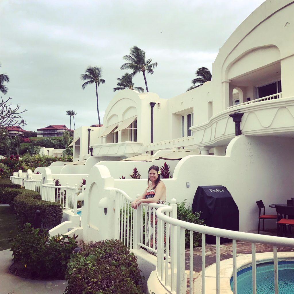 Villa courtyard Fairmont Kea Lani
