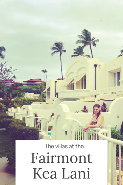 The Villas at Fairmont Kea Lani