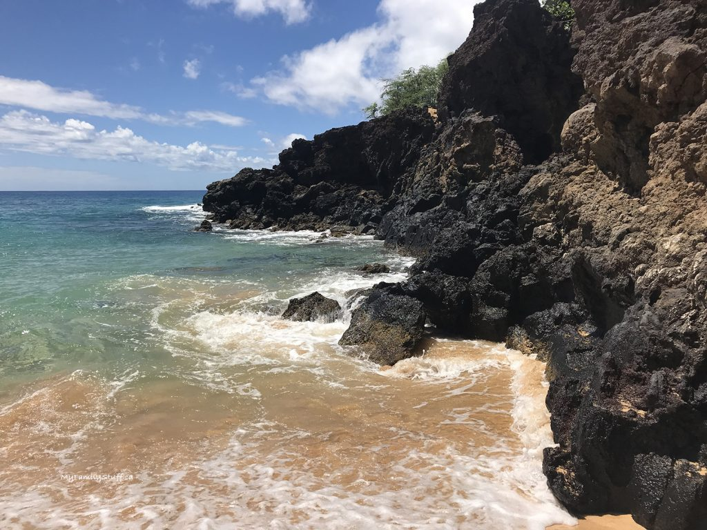 Rocks at Makena State Park on Maui