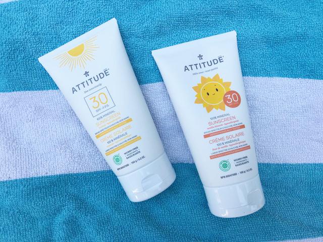 Attitude 100% Mineral sunscreen