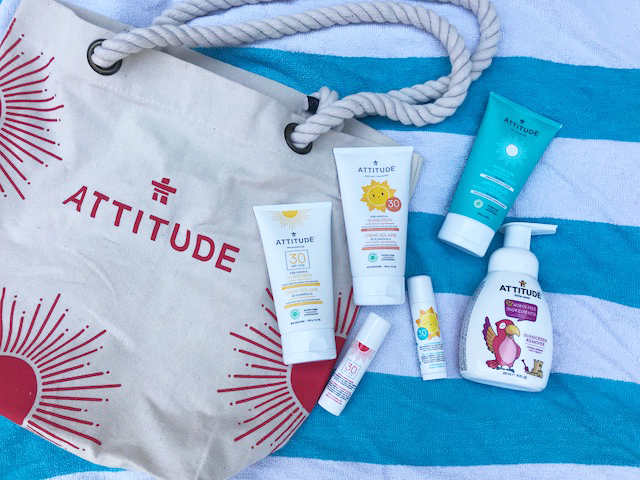 Attitude worry-free Sun Care products