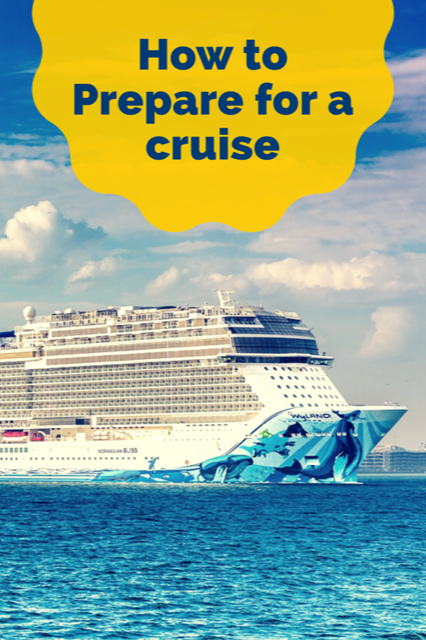 How to prepare for a cruise