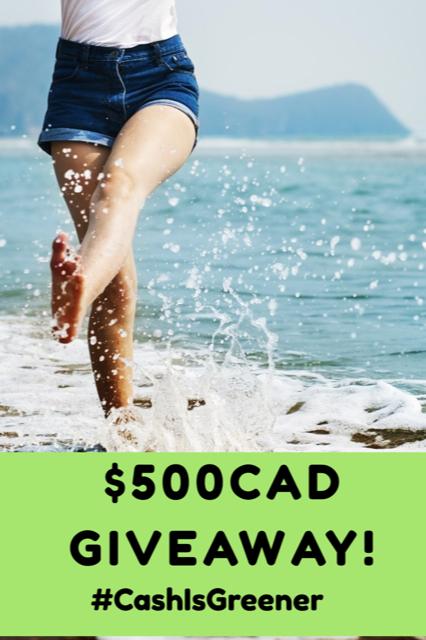#CashIsGreener $500CAD Cash Giveaway!