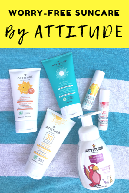 Worry-Free Suncare by Attitude