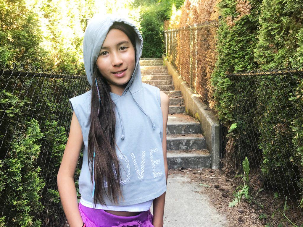 Limeapple Sleeveless hoodie