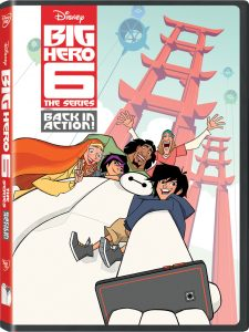 Big Hero 6 Back in Action DVD