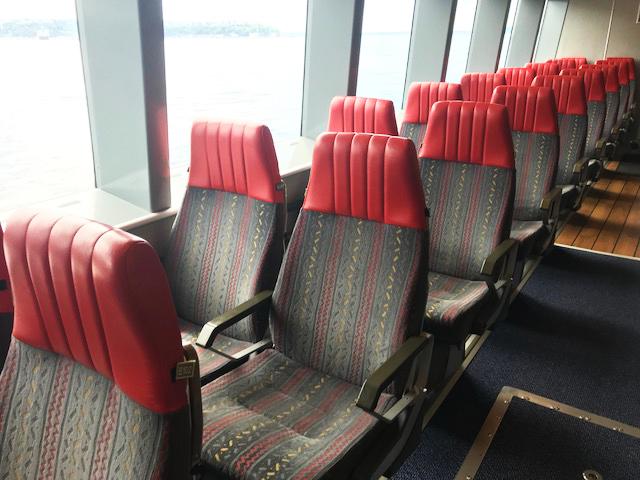 Clipper Economy Class seats