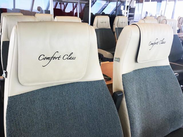 Clipper Comfort Class Seats