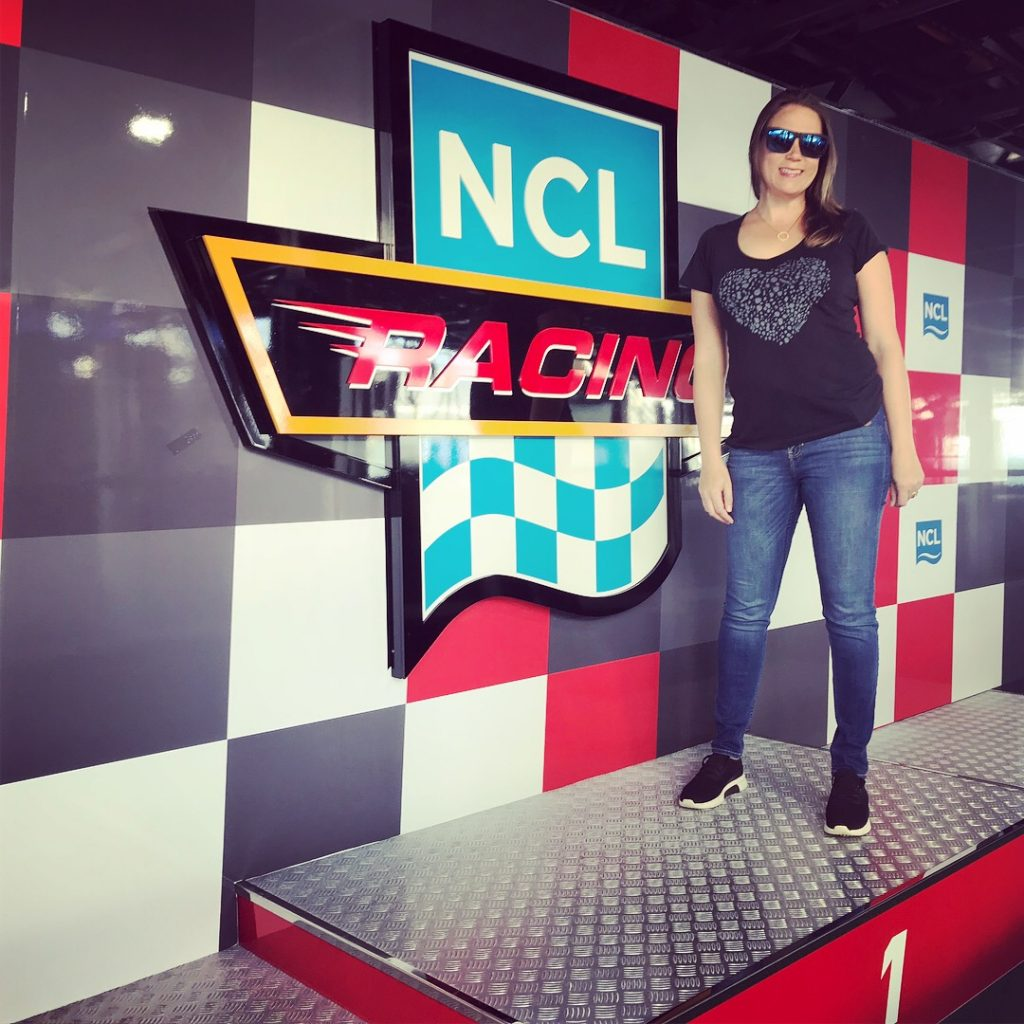 Norwegian Bliss Race Track Podium
