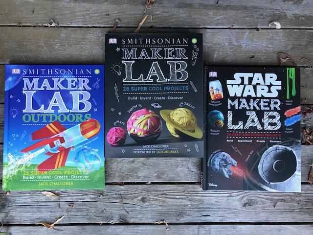 DK Smithsonian Maker Lab books