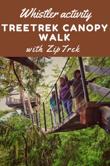 ZipTrek TreeTrek Canopy Walk Whistler