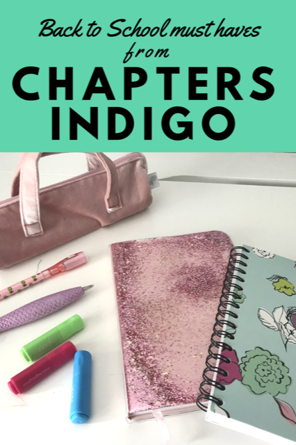Back to School must haves from Chapters Indigo