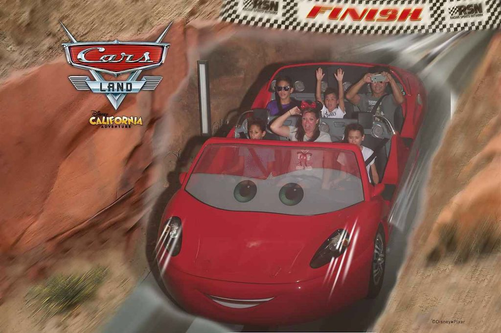 Radiator Springs attraction Disney California Adventure