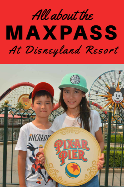 All About the MaxPass at Disneyland