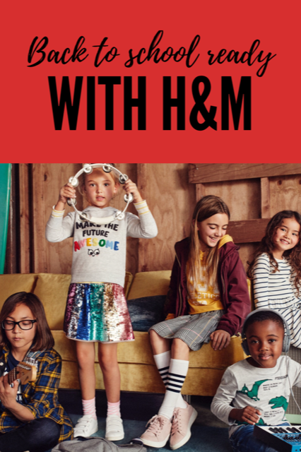 Back to School ready with H&M. Find trendy styles at amazing prices now! #bts