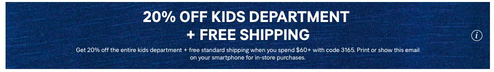 H&M Kidswear Sale