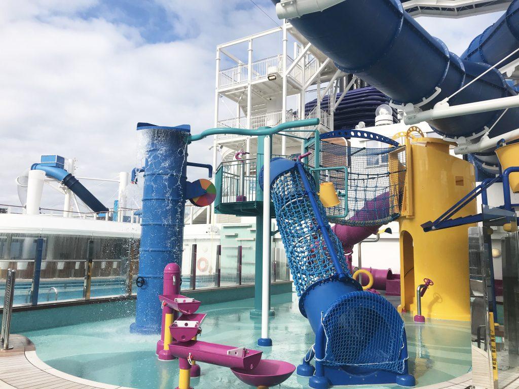 Norwegian Bliss kids Aqua Park