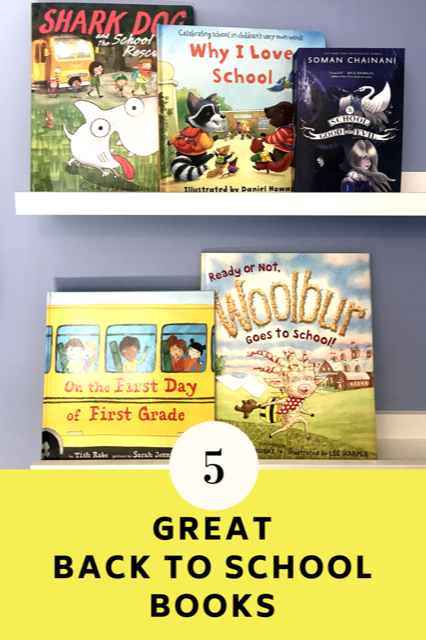 5 Great Back to School Books from Harper Collins for everyone in the family.
