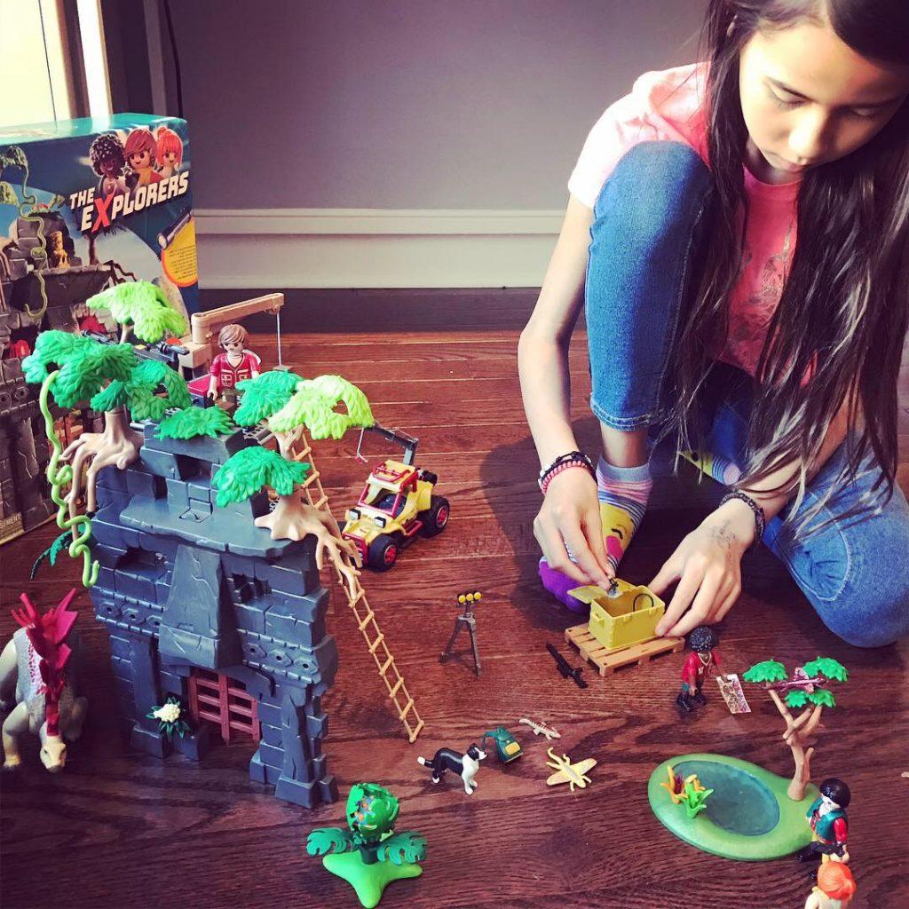 Playmobil Hidden Temple playset