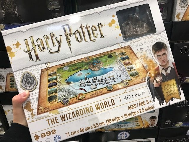 Costco Harry Potter Puzzle