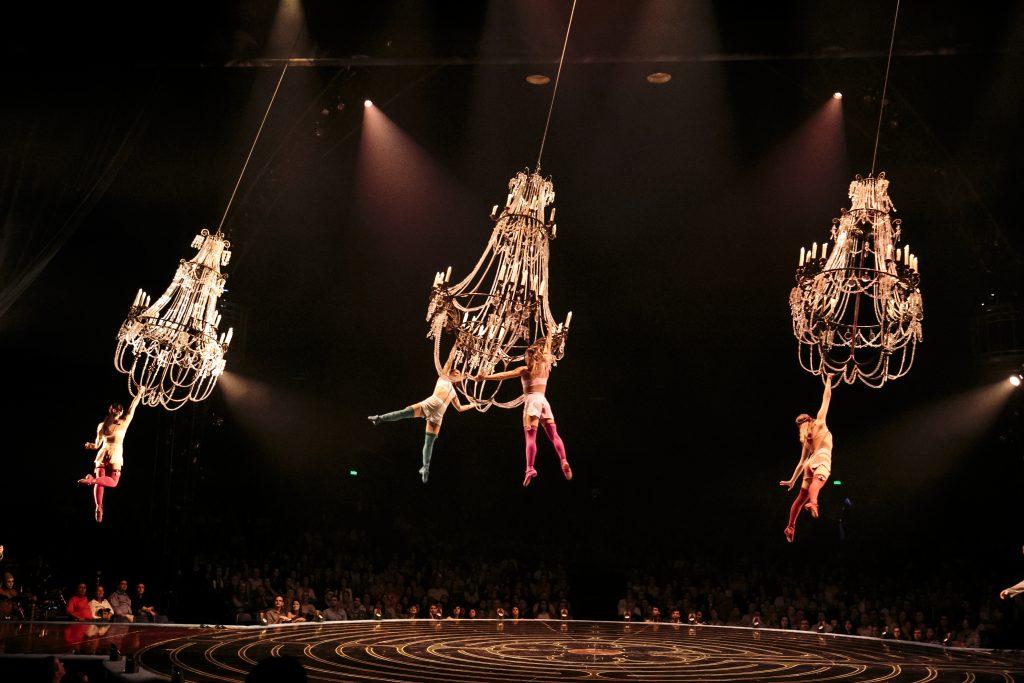 Chandelier Corteo by Cirque du Soleil