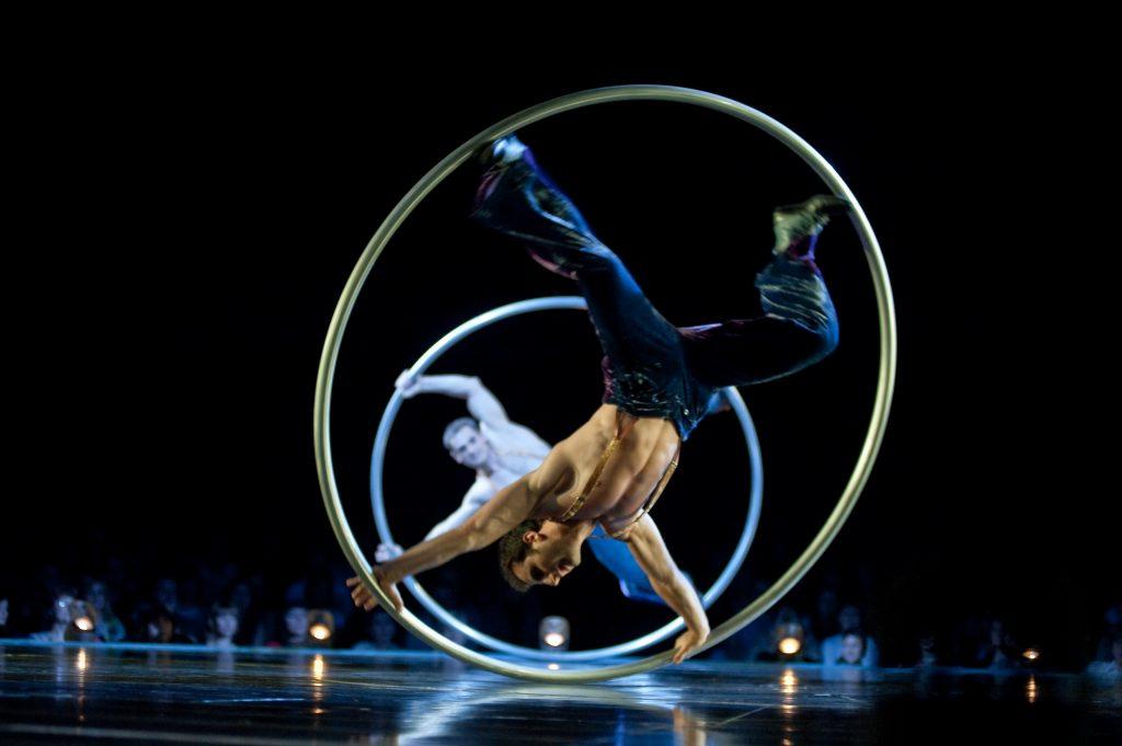 Cyr Wheel Corteo Cirque du Soleil