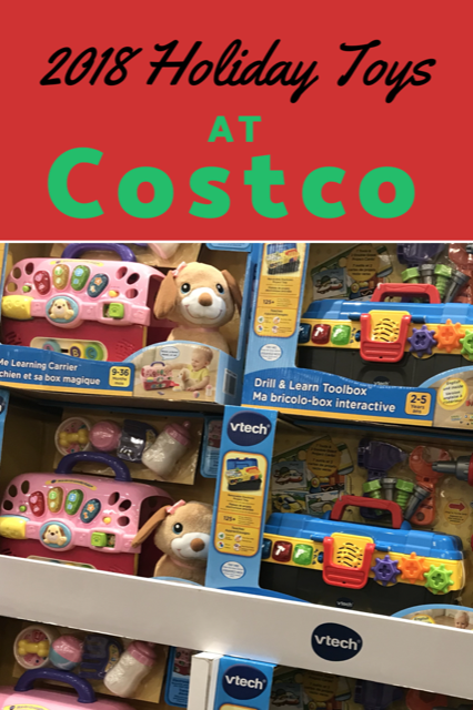 2018 costco holiday toy guide - my family stuff