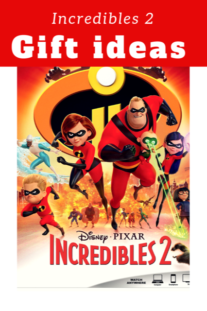 Incredibles 2 gift ideas #disney #pixar