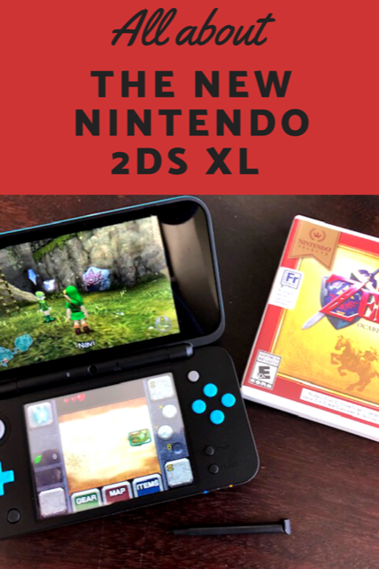 All about the New Nintendo 2DS XL