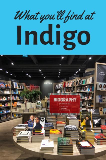 What you'll find at Indigo #shopping #experienceIndigo